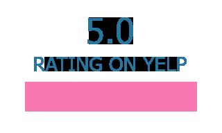 5 Stars Rating on Yelp | Reiki Dome